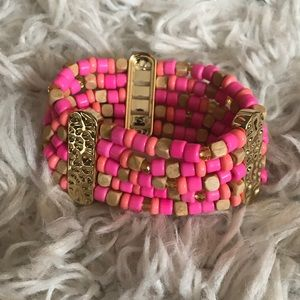 Lilly Pulitzer beaded bracelet